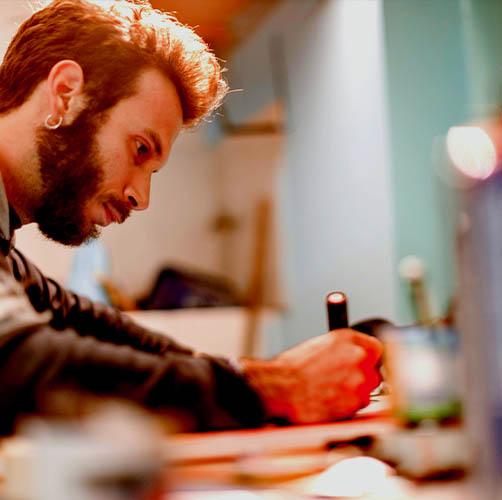 Michele Lupo al lavoro